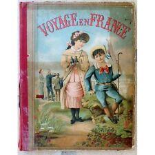 Petit VOYAGE en FRANCE Science Industrie Illustré par Walker et Kermabon 1900/10