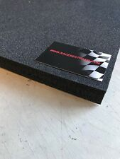 Motorcycle Race Seat Foam 20mm Thick, XL Sheet 400mm x 400mm, self adhesive