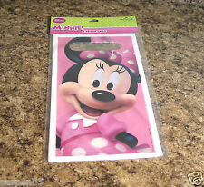 Hallmark Disney Minnie Mouse Treat Loot Bags 8ct Party Favors Supplies New