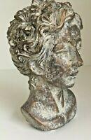Victorian Lady Skulptur Schreibtisch Kräuterbeet Gartenbank Bronze Kopie Beton