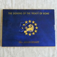 IRELAND 2007 TREATY OF ROME 9 COIN EURO SET - sealed pack