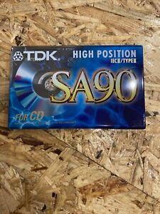TDK SA 90 Audio Kassette IEC II Type II