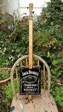 More details for 3 string cigar box guitar jack daniels style