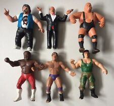 WWF LJN Loose Wrestling Figures ALBANO MEAN GENE BUNDY JYD SANTANA KIRCHNER WWE