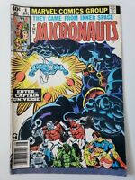 MICRONAUTS #8 (1979) MARVEL COMICS 1ST APPEARANCE CAPTAIN UNIVERSE! GOLDEN ART!