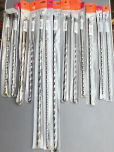 Circum Steinbohrer Mauer-Bohrer Hm diverse Größen 8-20mm 400mm-600mm Länge