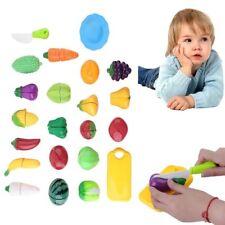 22 Küchenspielzeug Schneiden Obst Gemüse Lebensmittel Küche Kinder Spielzeug