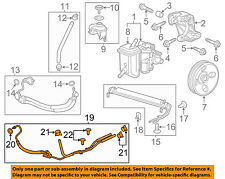 Chevrolet GM OEM 12-13 Impala Pump Hose-Power Steering Cooler Tube 22985652