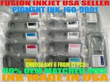 Any 6 Compatible Cartridges canon PFI-1700 ipf imagePROGRAF PRO-2000 4000 6000 i