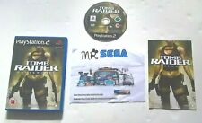 TOMB RAIDER UNDERWORLD for PLAYSTATION 2 'RARE AND HARD TO FIND'