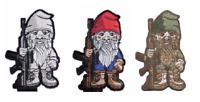 """BuckUp Tactical Patch Hook Gnome Rifle 2.5"""" Cut-Out Patches"""