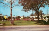 Valdosta Georgia~Valow Motor Court~Roadside Motel~1950s
