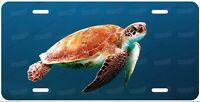 Sea Turtle Tortoise Ocean License Plate Auto Car Bike Motorcycle Wall Sign etc