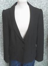 20 256/5 More & More Femmes Marques veste blazer gr. 40 noir de qualité boutons