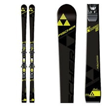 2017 Fischer RC4 WC GS JR 150cm skis with race plate (no bindings) A10016