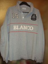 superbe POLO Serge Blanco QUINZE  taille M  tbe voir mensurations