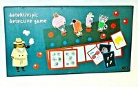 Detective Board Game Eliminate The Suspects, Find The Guilty Person Boxed New