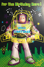 Toy Story Buzz Lightyear for The Birthday Hero Birthday Card Disney Pixar
