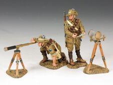 King & Country - le monde guerre I Australien clair Cheval Héliographe Set Al030