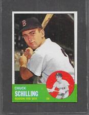 1963 Topps Baseball #52 Chuck Schilling EXMT *052E