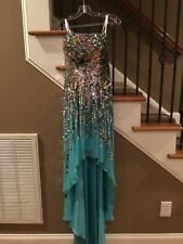 Formal Bridesmaid Wedding Gown Long Party Evening Ball Prom Dresses size 2