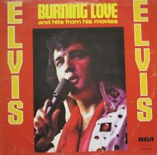 ELVIS PRESLEY - BURNING LOVE AND HITS FROM HIS MOVIES -  LP