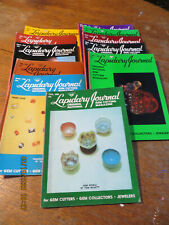 Lapidary Journal Magazine Lot 1968, 11 Issues