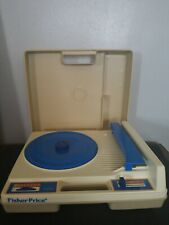 Vintage 1978 Fisher Price Portable Record Player Turntable # 825 33 & 45 rpm