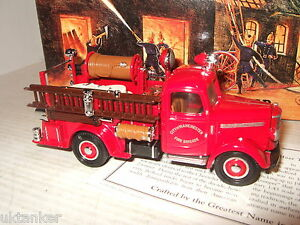 Rare Matchbox YFE17-M 1939 Bedford Pump & Hose Truck Diecast Model