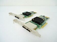 LOT OF 2 LSI SAS9205-8e Host Bus Adapter 8-Port 6Gb/s PCI-E HBA SATA+SAS GREAT!!