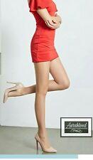 12 Denier NUDE Control Top Sheer pantyhose Stockings Hosiery Bikini Shaping