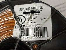 Republic Wire #12awg 19 Strand THHN/THWN-2/MTW Building Wire Brown /100ft