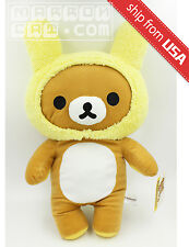 "19"" Authentic Japan San-X Rilakkuma Rabbit Ear Cute Soft Plush Toy UFO Catcher"