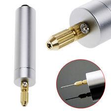 Bricolage Mini Micro Petit Perceuse Electrique en Aluminium DC 5V Pour Motor PCB