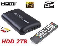 ^ Ty Box Multimedia Player Speicher 2TB 2,5 SATA HDMI Rca Usb3 Host SD Auto Haus