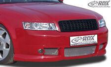 RDX SPOILER Anteriore Audi a4 b6 8e spoiler labbro Approccio Frontale Anteriore