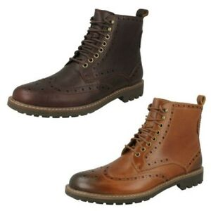 Mens Clarks Formal Boots 'Montacute Lord'