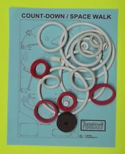 1979 Gottlieb Count Down / Space Walk pinball rubber ring kit