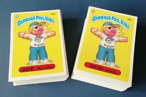 UK Garbage Pail Kids Series 3 1986 Full Variation Set~128 Stickers ~NMT/MNT