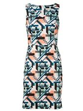 Target Collections Pique Dress Multi print Size 16