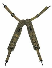 """Rothco G.I. Type """"H"""" Style LC-1 Suspenders - Black or Olive Tactical Suspender"""
