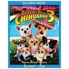 Beverly Hills Chihuahua 3: Viva La Fiesta! (Blu-ray/DVD, 2012, 2-Disc Set)