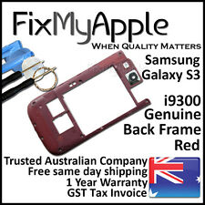 Samsung Galaxy S3 i9300 Red Back Housing Frame Camera Lens Cover Replacement