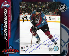 Peter Forsberg SIGNED Avalanche 8X10 Photo -70246