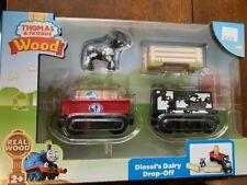 Thomas & Friends Wooden Railway Diesel's Dairy Drop-Off