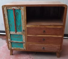Tv cabinet o For Bathroom 90x45x90h Teak solid wood retrieving boats cabinet