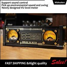 Eleksvu2 Analog Vu Meter Pickup Light Rgb Light Level Voice Control Backlight
