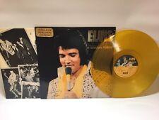 "ELVIS PRESLEY "" A CANADIAN TRIBUTE "" TRANSPARENT GOLD VINYL LP EX/EX 1978"