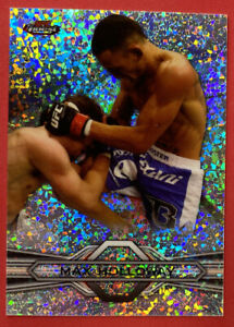 2013 Topps UFC Finest #62 Max Holloway Refractor Rookie Card