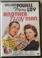 Another Thin Man 1939 DVD (2005) USED Complete VG William Powell Myrna Loy